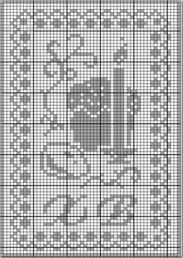 """Пасхальная салфетка """"Христос Воскрес"""", схема"""