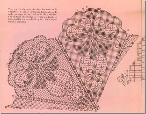 """Скатерть """"Королевская лилия"""", схема"""